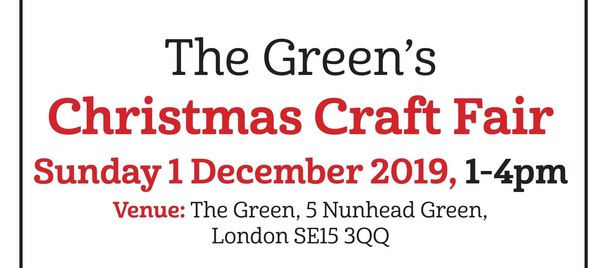 Christmas Craft Fair Event