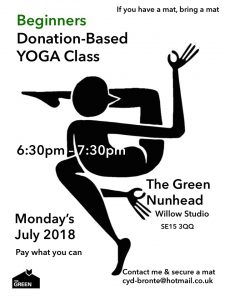 Beginners Donation-Based Yoga Class @ The Green - Ivy Room | England | United Kingdom