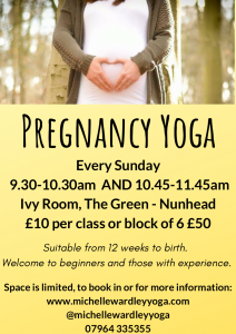 Michelle Wardley Pregnancy Yoga