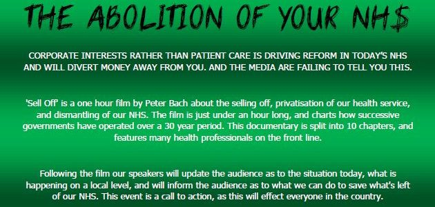 Sell Off – screening and Q and A, Tuesday 27 August 7pm